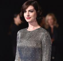 Anne Hathaway flattered by comparison to Amal Clooney