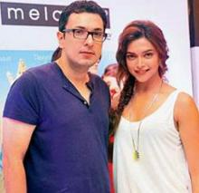 Deepika is very lucky for me: Dinesh Vijan