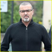 George Michael seen dining with friends in last pictures