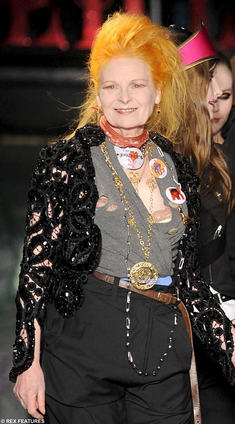 Vivienne Westwood thinks Kate Middleton needs to 'catch up with style'