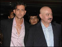 Trouble Between Hrithik & Dad Rakesh Over Barbara!