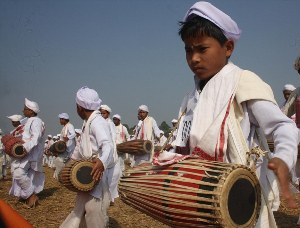 14,833 drummers in Assam set new record for largest percussion performance
