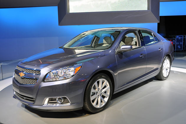 GM announces recall of 2013 Chevrolet Malibu vehicles due to suspension issue