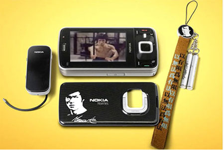 Nokia N96 Bruce Lee Edition Phone Launched In Hong Kong