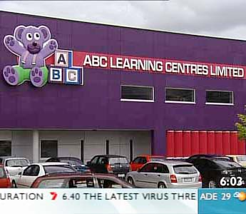 ABC Learning Centres on the brink of collapse