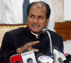 Infiltration on rise, militancy shows a decline in Kashmir: Antony