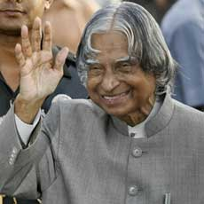 Students choose former President Kalam as country's environment ambassador