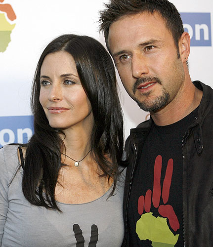 David Arquette And Courteney Cox Part Ways Actors Courteney Cox and David ...