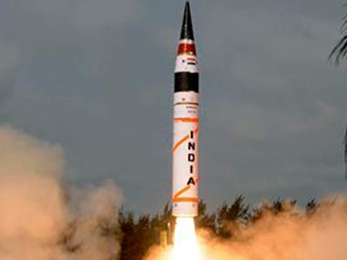 India successfully tests Agni-IV missile off Odisha coast
