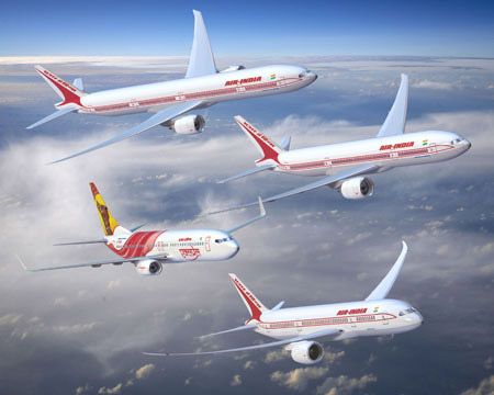 Plane   on New Delhi  Oct 10   Air India Will Deploy The Wide Bodied Boeing