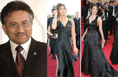 Of Musharraf, Aishwarya Rai, Priyanka Chopra and the good life!