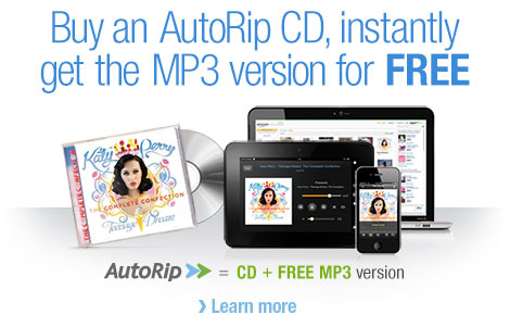 Amazon offering free digital copy of purchased CDs