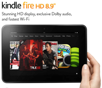Amazon begins distribution of Kindle Fire HD 8.9 in US