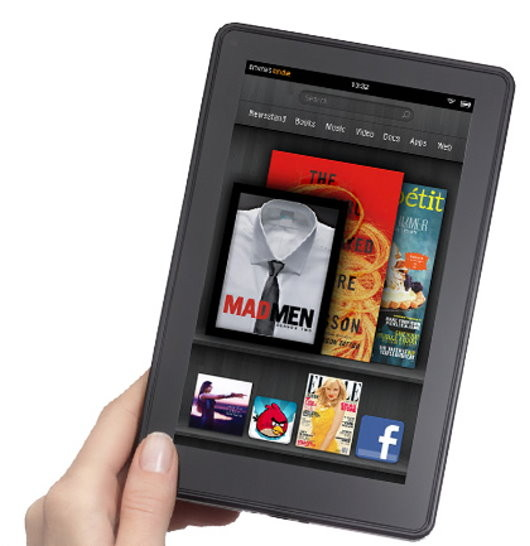 Kindle Fire is best-selling item on Amazon
