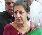 Union Culture Minister Ambika Soni