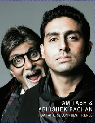 Big B, Abhishek record inaugural episode of 'Bingo' just in time