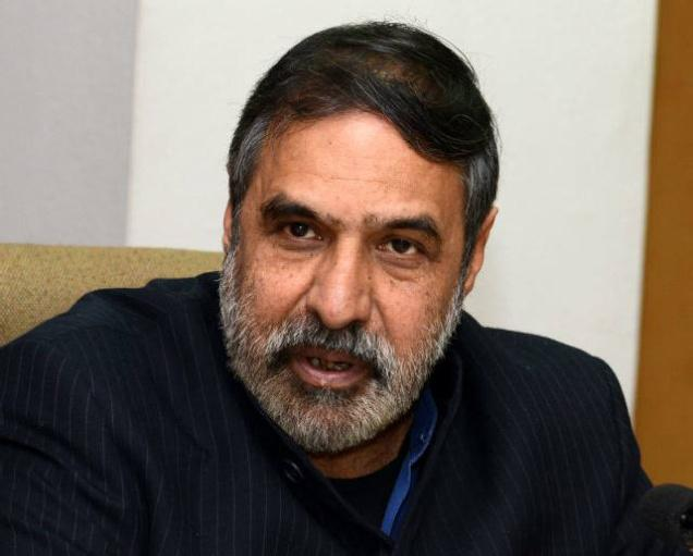 Political parties should be funded by a national corpus: Anand Sharma