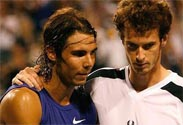 Nadal, Murray overcome challengers for Miami fourth round