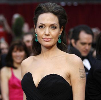 her role as a United Nations (UN) ambassador, Angelina Jolie is filming