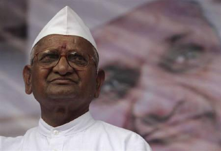 Anna Hazare first recipient of new Canadian award