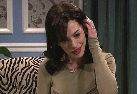 Anne Hathaway Viola. Upset With Anne Hathaway