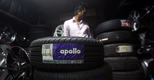 Apollo Tyres posts over 44% jump in quarterly net