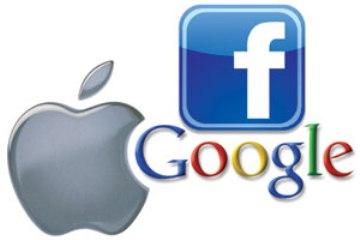 Apple, Google, Facebook