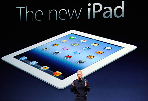 Chinese regulators approve new iPad