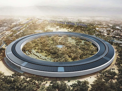 Apple's spaceship-like headquarters hit by construction delays