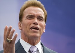 Schwarzenegger proclaims state of emergency; one possible flu death
