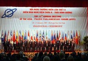 Laos to host 17th Asia Pacific Parliamentary Forum
