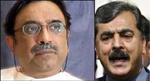 Zardari throws Taliban's sharia law deal at Gilani, Sharif camp