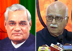 Vajpayee differed on Ayodhya, Modi's removal: Advani