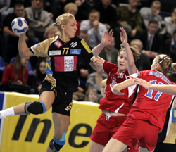 Austrian handball coach banned for body-checking French player