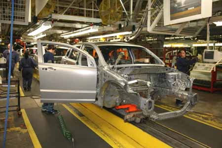 Auto sectors pull markets up