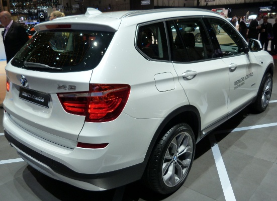 New BMW X3 debuts in India