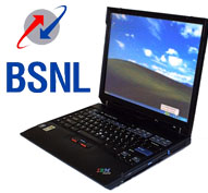 cheap laptop, BSNL