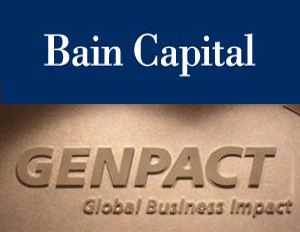Bain Capital looking to acquire a 30 percent stake in Genpact