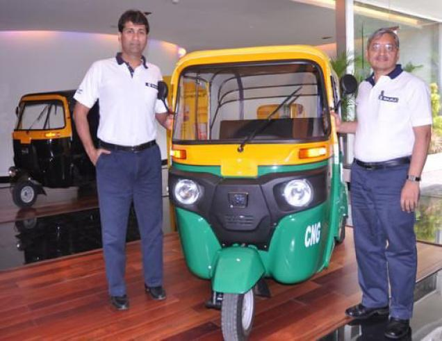 Bajaj launches new RE three-wheeler series in India