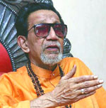 Shiv Sena chief Bal Thackeray