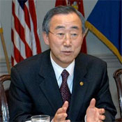 "Ban Ki-moon welcomes U.S. backed climate deal as an ""essential beginning"""