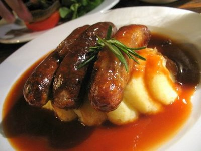 Bangers and mash is Brits' most popular comfort food amid recession