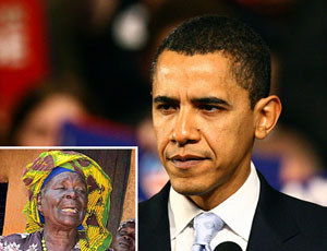 Obama's granny struggling with celebrity status
