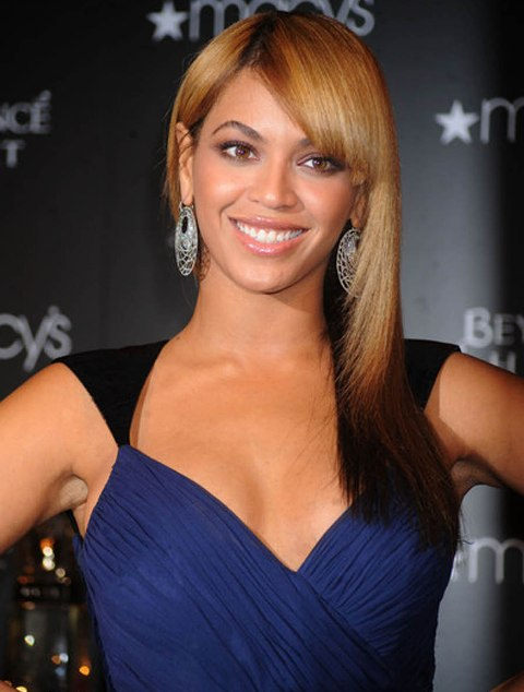 beyonce knowles face shape hairstylegalleriescom