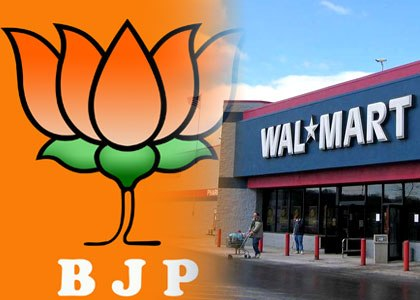 BJP demands inquiry into Wal-Mart lobbying in India