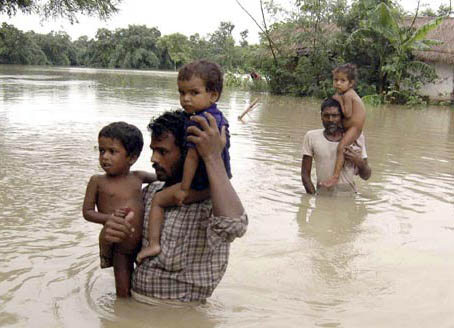 Flood situation remains grim in UP, Bihar