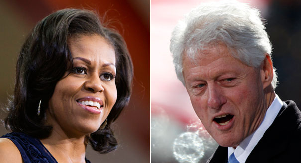 Bill-Clinton-Michelle-Obama