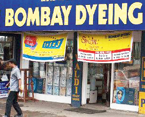 Bombay Dyeing jumps as much as 16% on stake sale report