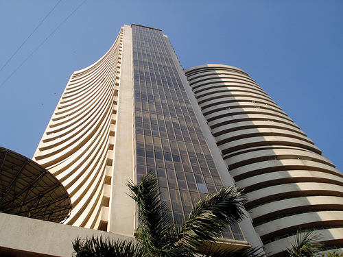 Rising and Falling in Sensex
