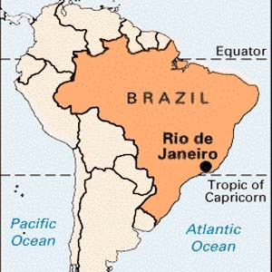 Images and Places, Pictures and Info: rio de janeiro map of brazil